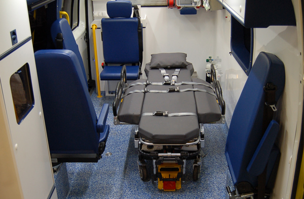 high dependency patients vehicles